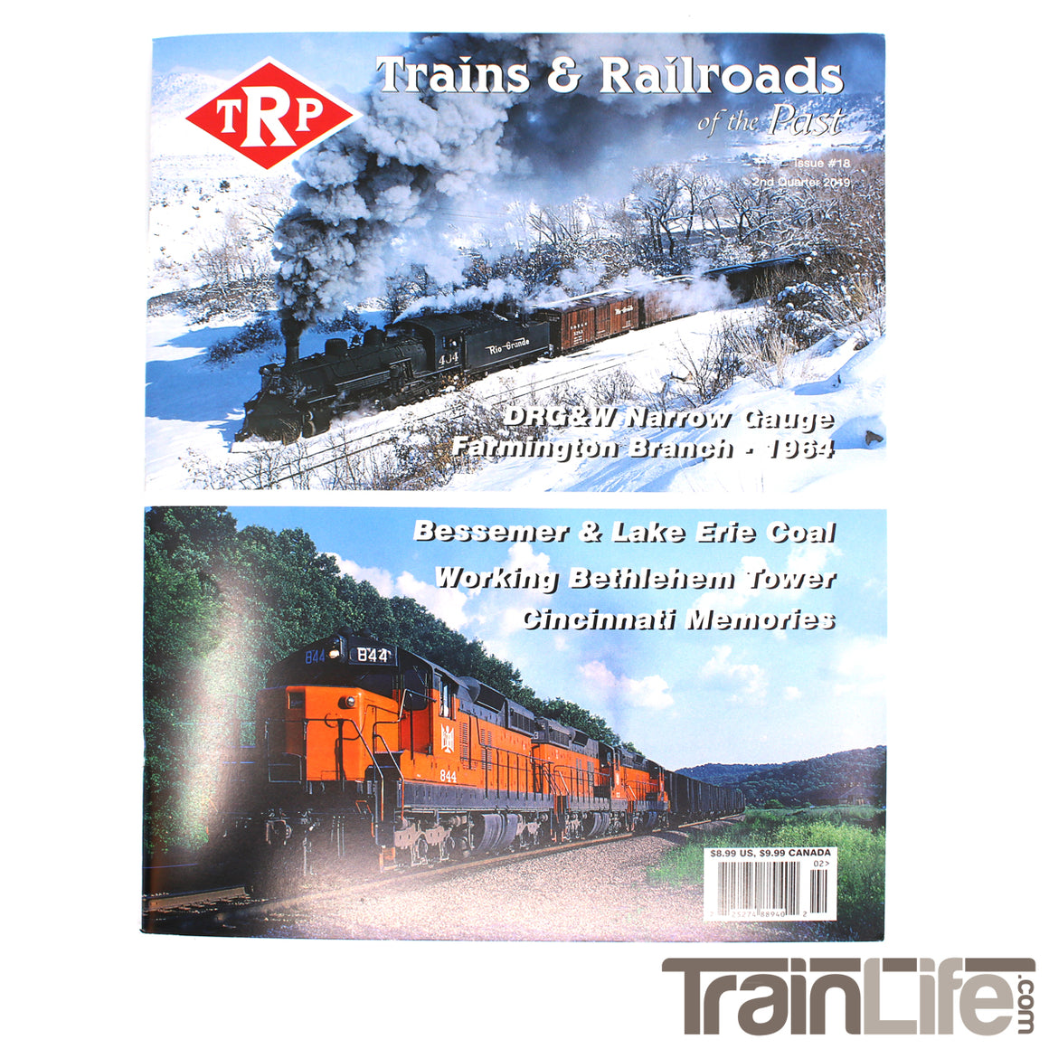 Magazine: Trains and Railroads of the Past