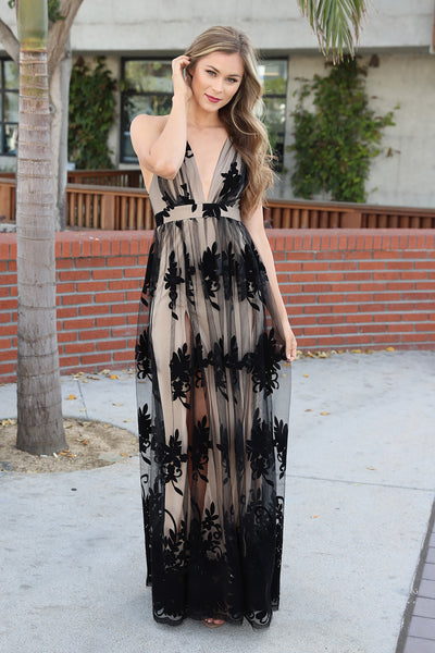 MYTHICAL KIND OF LOVE BLACK LACE DRESS