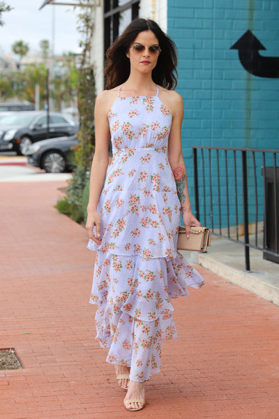 SUMMER DREAM MAXI LAVENDER DRESS