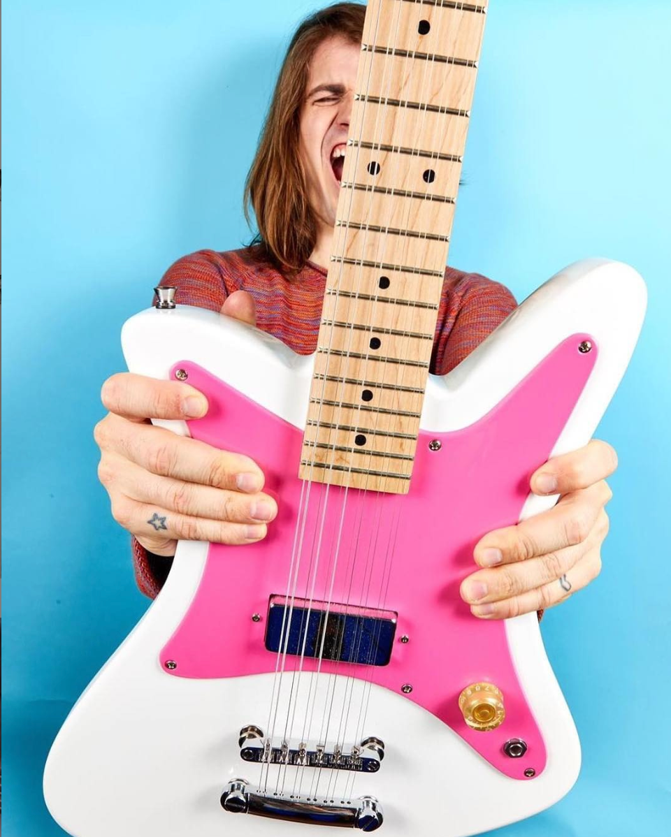 PAINTED LADY PINK PEARL 12 STRING - Goldfinch Guitars
