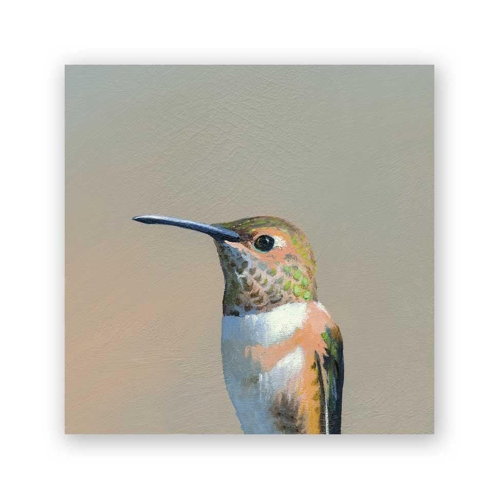 Hummingbird #5 - Wings on Wood®