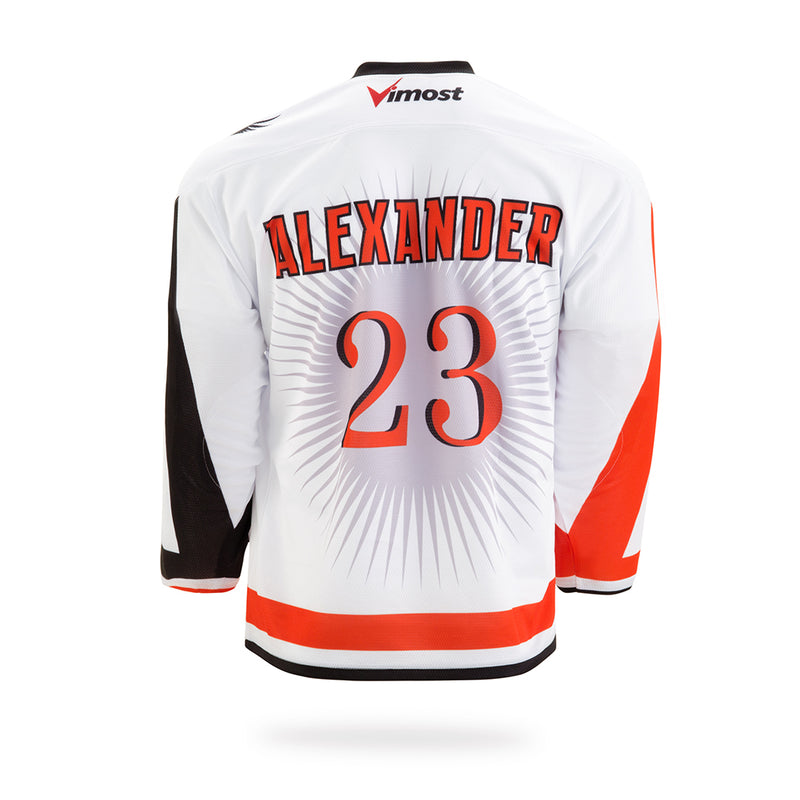 Phoenix Design White Ice Hockey Jersey