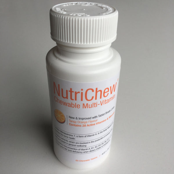 NutriChew™ Chewable Multivitamin/Multimineral - Single, 3, 6 or 12 bottle pack