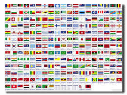 FLAGS OF THE WORLD PRINTED (A - B)