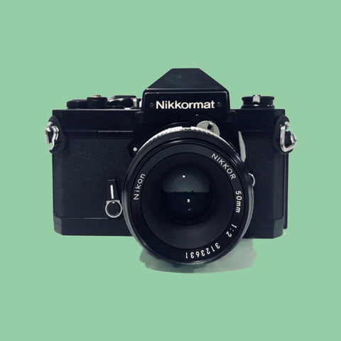Nikkormat FT2 with  50mm f/2 Lens - West End Cameras