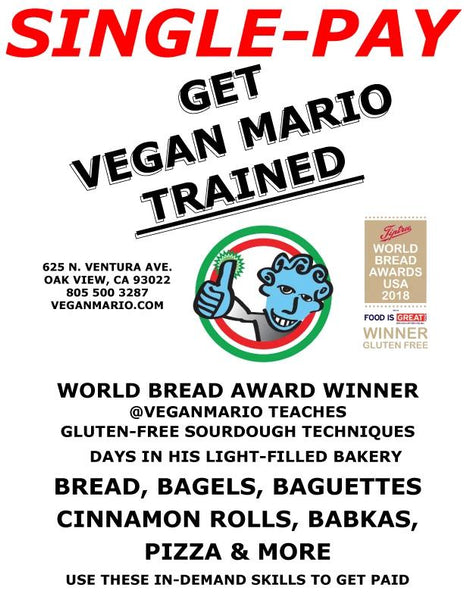 PARTNER WITH VEGAN MARIO + OPEN YOUR OWN GLUTEN-FREE BUSINESS