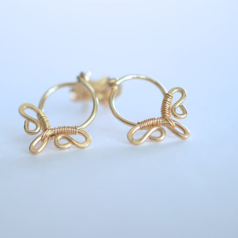 Alayla - 14k Gold Filled Post Earrings