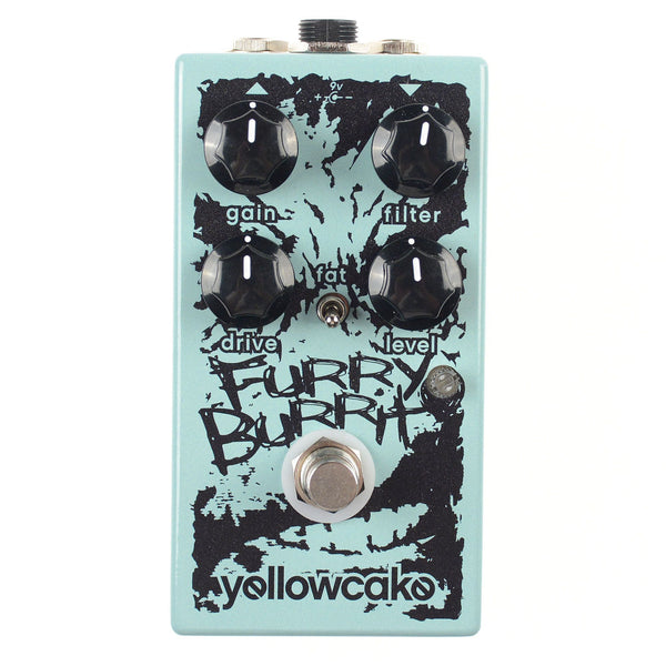 Yellowcake - Yellowcake Furry Burrito Overdrive/Fuzz Pedal - The Sound Parcel