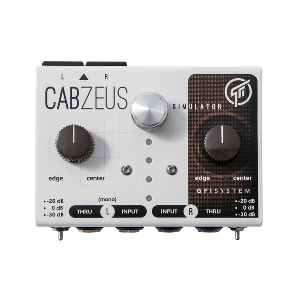GFI System Cabzeus Stereo Speaker Simulator & DI Box [XLR Output Edition]