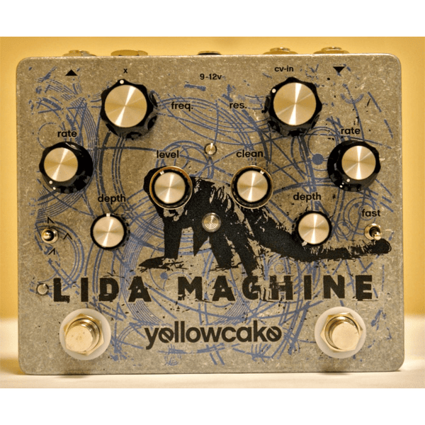 Yellowcake Pedals Lida Machine Analog Resonant Filter