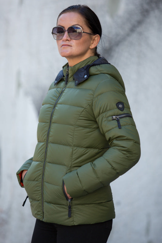 C-Ro Etage Quilted Down Jacket, Green