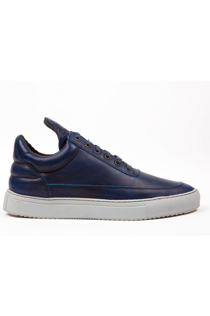 Low top blueway leather