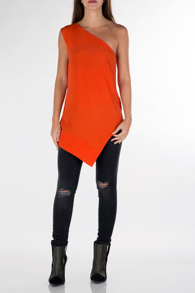 Asymmetric top orange
