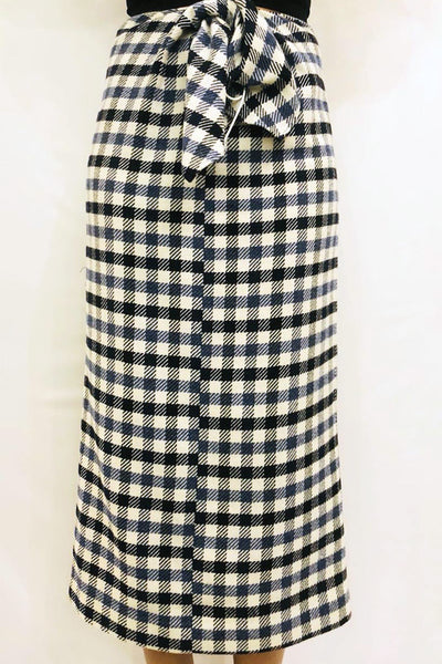 Fairfax gingham skirt