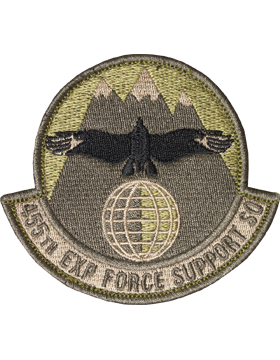 OCP 455TH EXP FORCE SUPPORT SQUADRON VELCRO