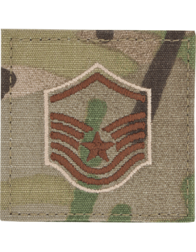 SCORPION / OCP AIR FORCE MASTER SERGEANT W/ VELCRO