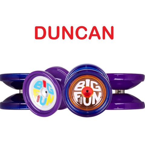 Duncan Big Fun Yo Yo - Fingerspin Ready, Long Spin Time