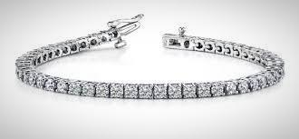 RV - 262  Tennis bracelet made with polished diamonds to adorn the wrist with simple sophistication ( Price on Request)