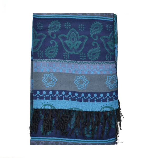 Flowei Patterns Winter Women Thick Scarf - First Impression UK