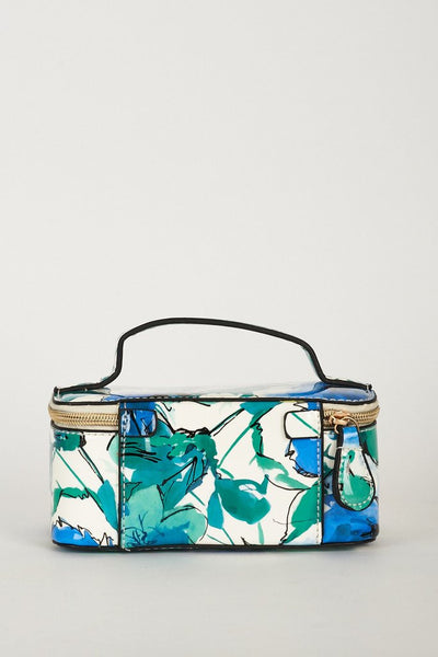 Blue Fashionable Daily Cosmetics Bag, Cosmetic Bags - First Impression UK