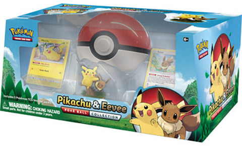 Pokémon - Pikachu and Eevee Poke Ball Collection