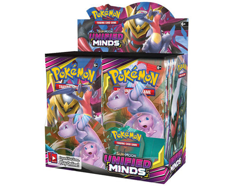 Pokemon: S&M Unified Minds Booster Box