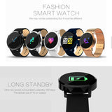 Vwar Q8 Color Touch Screen Smartwatch Smart 1080P Watch Men Women IP67 Waterproof Sport Fitness Wearable Devices Electronics