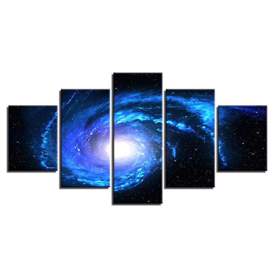 Starry Galaxy Canvas Art