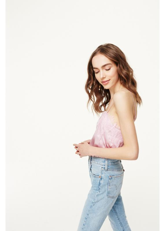 CAMI NYC - SWEETHEART CHARMEUSE FROSE