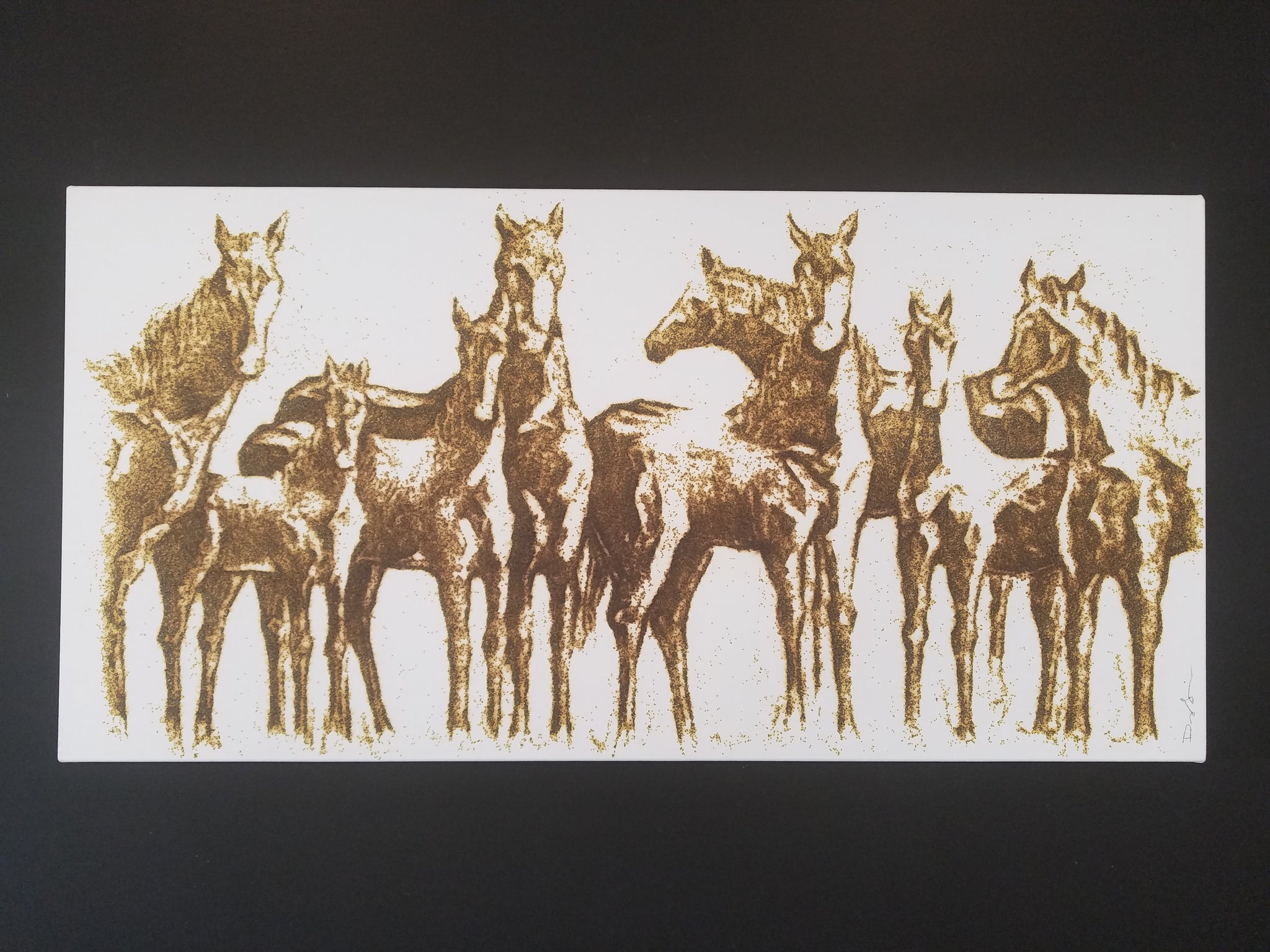 The Wild Bunch (24 x 48) SOLD
