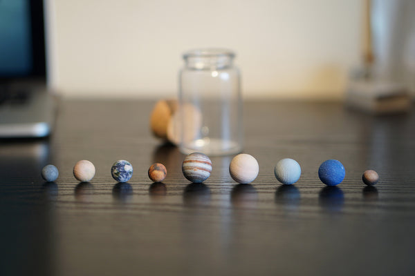 Solar System in a Bottle