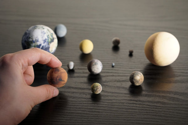 Rocky bodies of the Solar System, Set of 13