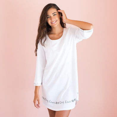 Dog Lover - Cozy Collection Belle Sleeve Nightgown