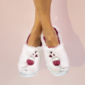 Wine a Little - Classic Slippers