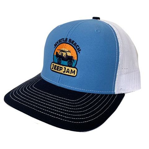 Sunrise Trucker Hat (Blue)