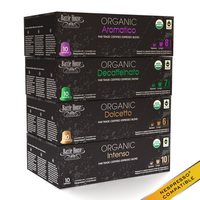 Espresso Blends<br>FTO Capsules<br>80 ct Variety Pack