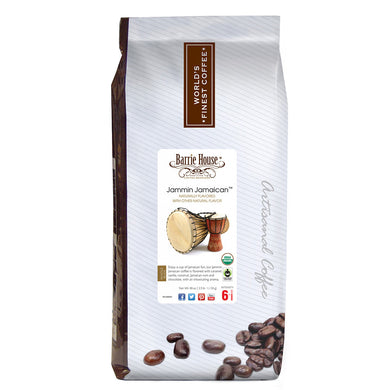 Barrie House Fair Trade Organic Jammin Jamaican 2.5 lb Whole Bean