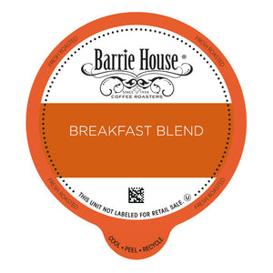 Barrie House Breakfast Blend Value Pack Capsules 80 ct