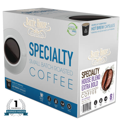 Barrie House Blend Extra Bold Single Serve Capsules 24 ct K-cups