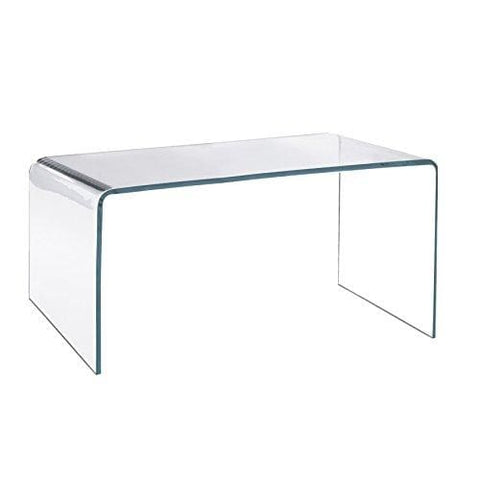 Acrylic Coffee Table - 12Mm Clear Acrylic Diamond Polished Edges British Made