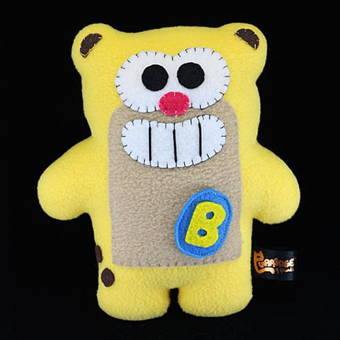 Handmade Banana Otterich Plush (Limited Edition) - Purridge & Friends - Furry Feline Creatives