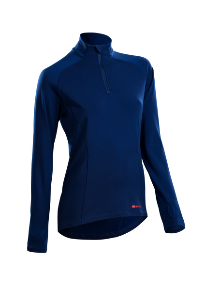 SUGOI Women's MidZero Zip, Deep Royal (U645020F)