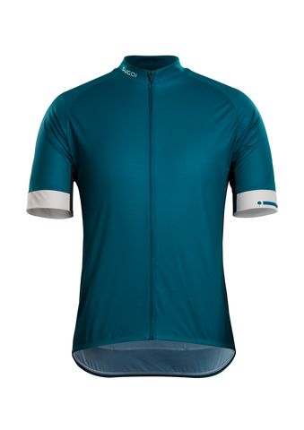 SUGOI Evolution Zap Jersey, Shaded Spruce (U576010M)