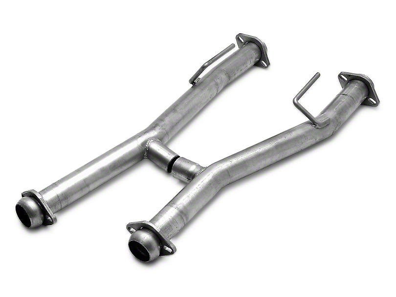 Pacesetter Off Road H-Pipe, 86-93, Mustang, 5.0L. Use with #70-3226 Long Tube Headers 82-1111