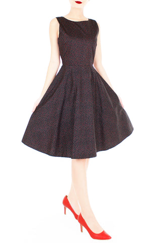 products/Charming_Clematis_Flare_Midi_Dress_Noir_Ruby-2.jpg