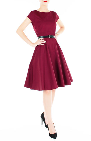 products/Classic_Weekender_Flare_Tea_Dress_Wine_Red-1.jpg