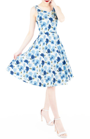 products/Frosty_Winter_Roses_Flare_Midi_Dress-2.jpg