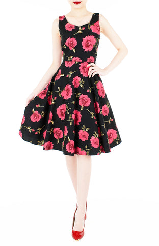products/The_Enchanted_Red_Rose_Flare_Midi_Dress-1.jpg
