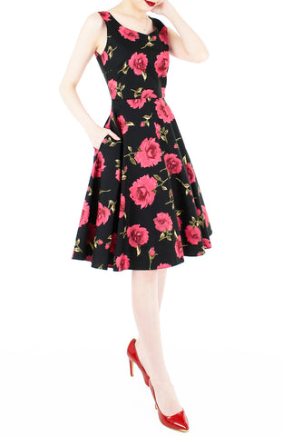 products/The_Enchanted_Red_Rose_Flare_Midi_Dress-2.jpg