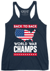 Back to Back World War Champs Tank (Women's)